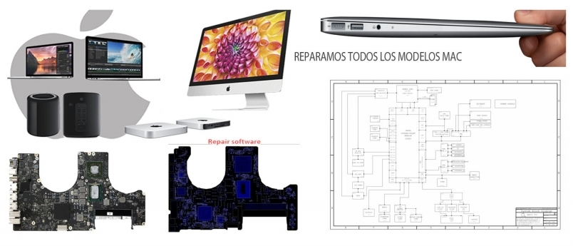 reparación placa logica macbook pro